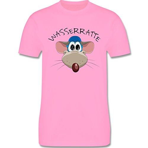 Wassersport - Wasserratte - Herren Premium T-Shirt Rosa