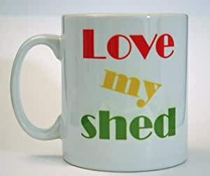 'Love My Shed' Mug