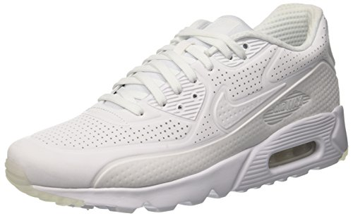 Nike Herren Air Max 90 Ultra Moire Trainingsschuhe Bianco (White/White-White-White)
