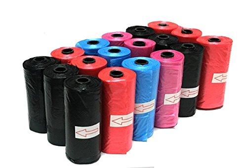 FORPET 300 Sacchetti igenici per escrementi animali domestici in vari colori cani e gatti raccogli feci