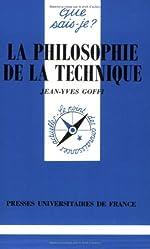 La philosophie de la technique de Jean-Yves Goffi