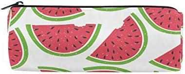 Fruits Pastèque Pattern Trousse Sac pochette pour enfants garçons garçons garçons filles adultes d'école avec fermeture à glissière ronde B07GXLT8B9 | Respectueux De L'environnement  f9f322