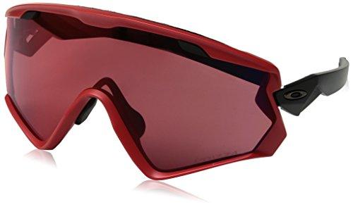 Oakley Herren Wind Jacket 2.0 941806 Sonnenbrille, Rot (rojo), 0