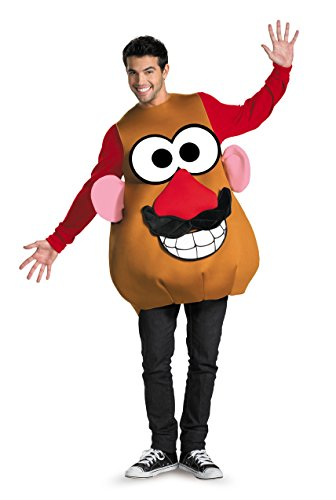 Disguise Kostüms Herren Mr. Potato Head Deluxe Erwachsene,Multi,Xl (42-46) (Head Mr Erwachsene Potato)