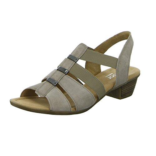 Gabor42.472 - Scarpe con cinturino alla caviglia Donna Grigio (Koala)
