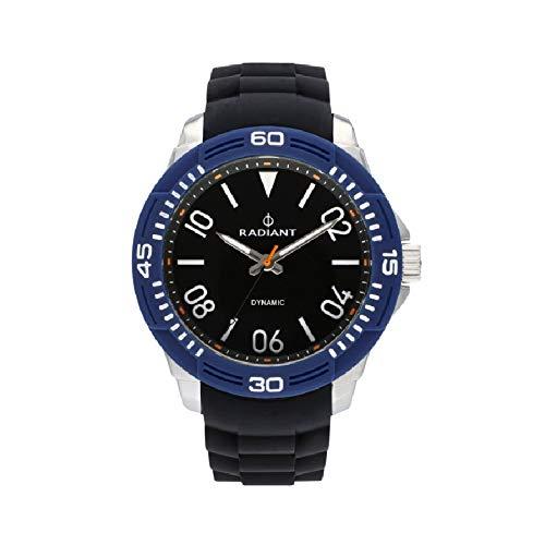 Radiant aren orologio Uomo Analogico al Al quarzo con cinturino in Gomma RA503602