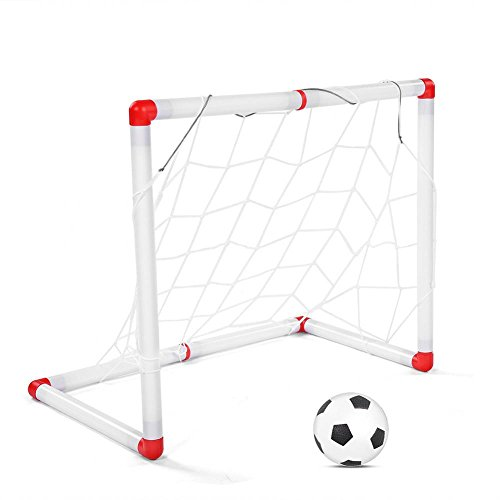 Fdit Kinder Fußball Ziel Spielzeug Eltern-Kind-Interaktion Kinder Fußball Ziel Set Outdoor Indoor Fußball Ziel Praxis Spiele Spielzeug Set -