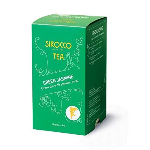 Sirocco Tee Schweiz - Organic Green Jasmin - 20 Teebeutel (Marokko-minze-grüner Tee)