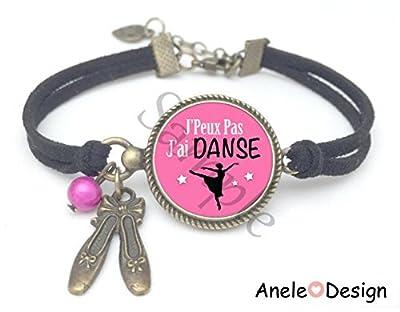 Bracelet rose J'peux pas J'ai DANSE