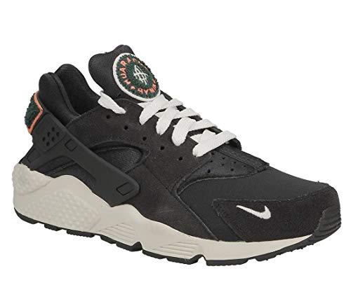 ecec2ba88bbfa Nike Air Huarache Run PRM, Zapatillas de Gimnasia para Hombre, Gris (Oil  Grey/Sail/Rainforest/Bright 015), 40 EU