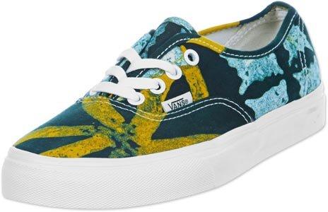 Vans U AUTHENTIC (DELLA) BATIK/Y VVOEAWE Unisex-Erwachsene Sneaker Gelb