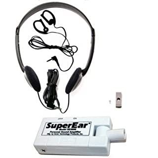 SuperEar Personal Sound Amplifier Model SE5000 (Re-Engineered Upgrade of Discontinued SE4000) Increases Ambient Sound Gain 50dB