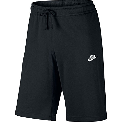 NIKE Herren Nsw Jsy Club Trainingsshorts - Mehrfarbig (Black/White) , S