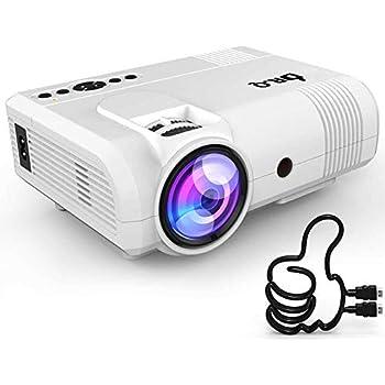 DR Q HI-04 Projector 1080P Full HD and 170'' Display: Amazon