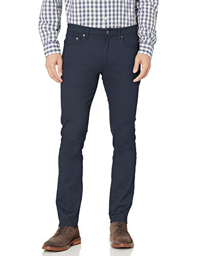 Amazon Essentials Skinny-Fit 5-Pocket Stretch Twill