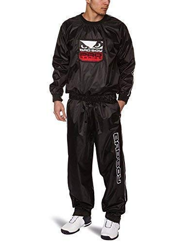 Bad Boy MMA robuste Schwarz Sauna Anzug, XL