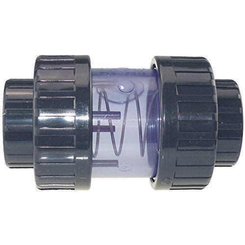 PVC Rückschlagventil transparent 50 mm