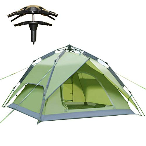 Climecare Outdoor Leichtes Pop up Wurfzelt 2-3 Personen Zelt Camping Festival 240 x 210 x 135 cm