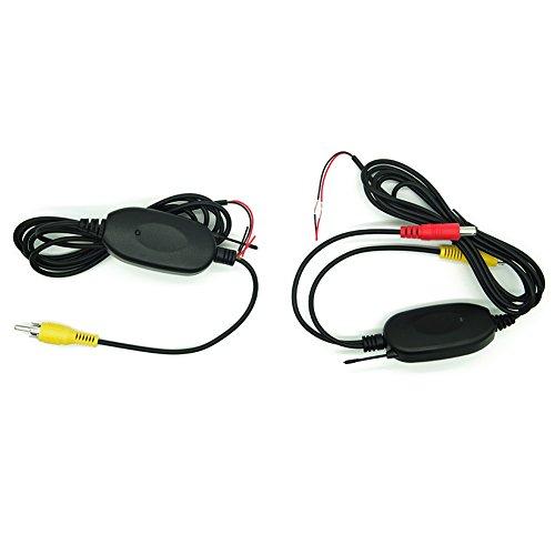 Wireless-Farb-Video-Sender und Empf?nger f¨¹r Auto-Monitor, Head Unit, DVD-Player und Kamera-Bereich Signal: 100M