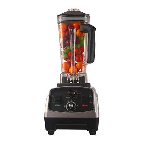 Licuadora, Batidor de frutas y mezclador, Blender profesional con velocidad variable y temporizador incorporado para Smoothies Juice Sauce