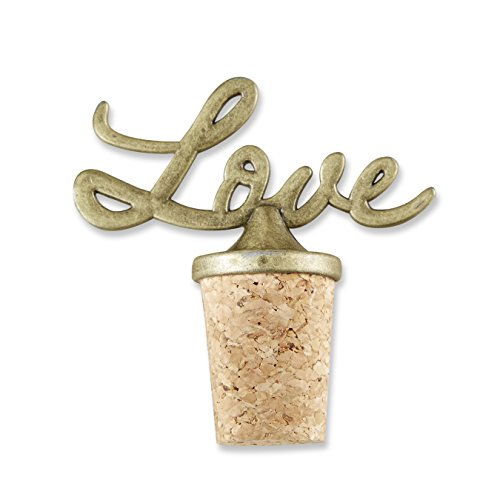 Kate Aspen Love Antik Flasche Stopper, Gold (Party Flasche Antike Favor)
