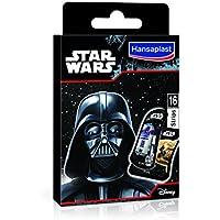 Preisvergleich für Hansaplast Disney Star Wars Pack 16Pflaster, 4er Pack (4 x 16 Pflaster)