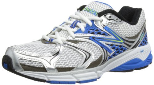New Balance , Chaussures de running pour homme Blanc - white/silver/blue
