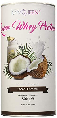GymQueen Proteína de Whey, Proteína de suero de leche concentrada e aislada, Producto Alemán de...