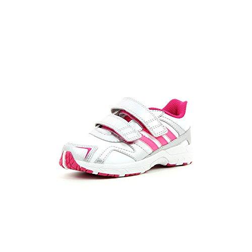 Babyschuhe Jungen rose gris Blanc Lauflernschuhe Adidas O5BTq884