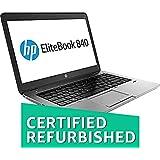 (Certified REFURBISHED) HP Ultrabook 840G1-16 GB-240 GB 14-inch Laptop (3rd Gen Core i5/16GB//Windows 10/Integrated Graphics), Black