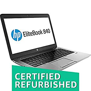 (Certified REFURBISHED) HP Ultrabook 840G1-16 GB-240 GB 14-inch Laptop (3rd Gen Core i5/16GB//Windows 10/Integrated Graphics), Black