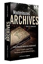 Mystérieuses archives de David Galley