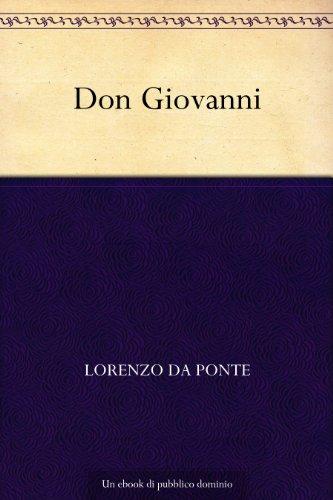 Don Giovanni (Italian Edition)
