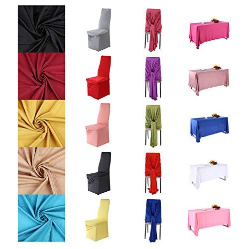 Gedruckt Kameez (Polyester Stretch Jersey Stoff Bekleidung & Festzelt Events Material, Tisch stuhl abdeckung drapieren & zurück drop dekoration. Semi Sheen,21 Farben, 160 cm breit.)