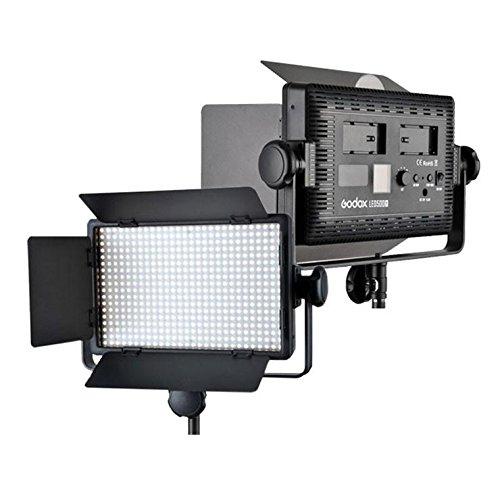 Godox LED500 500 Watts White LED Panel Video Light (Black)