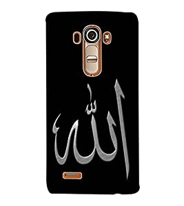 ColourCraft Lord Allah Back Case Cover for LG G4