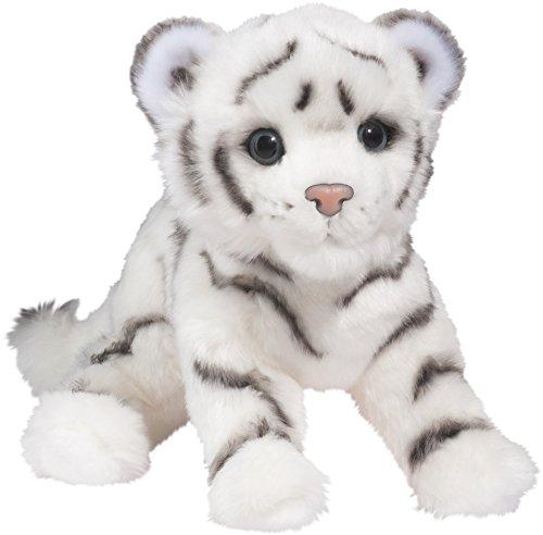 Cuddle Toys 1870Silky WHITE TIGER Weißer Tiger Rauptier Großkatze Panthera tigris tigris Kuscheltier Plüschtier Stofftier Plüsch Spielzeug (Tiger Stofftier Weißer)
