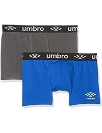 Umbro Boxer Packx2, sous-Vêtements de Sport Homme, (lot de 2)