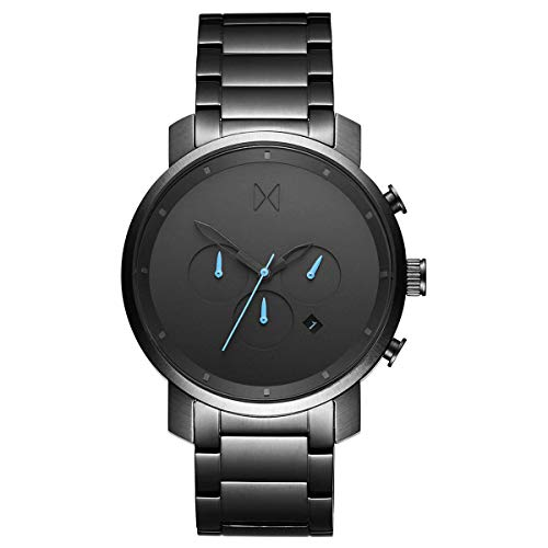 MVMT D-MC01-GU Chrono Chronograph Uhr Herrenuhr 5 bar Analog Datum Grau