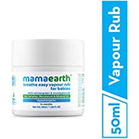 Mamaearth Natural Breathe Easy Vapour Rub Balm, 50g