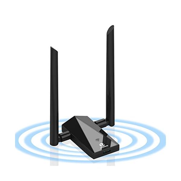Zoweetek-Adaptateur-cl-wifi-AC1200-USB30-Double-Bande-58G24G-pour-Windows-XP-Vista-7-8-10-Linux-Mac-OS
