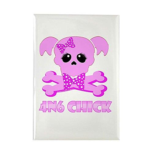 nkmagnet NCIS Abby 4N6 Chick - rechteckig, 5,1 x 7,6 cm ()