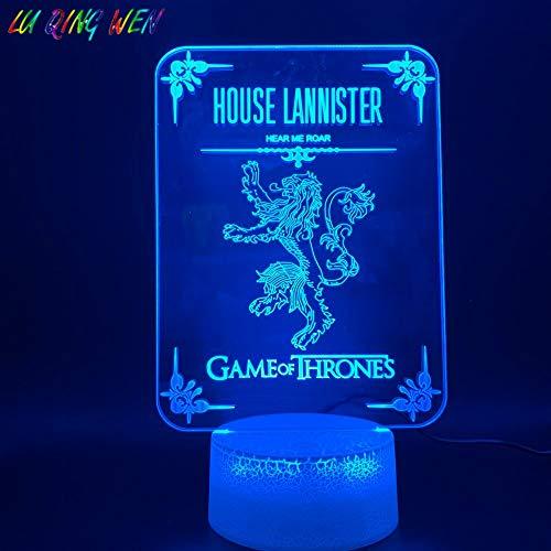 Figura fantasma luce notturna lampada da tavolo multicolore camera da letto neo