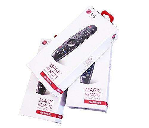 LG an-mr650-schwarze Fernbedienung–Fernbedienung (Tasten, schwarz, TV, LG, LG: G6, E6, C6, B6, uh9500, uh8500, uh7700, uh6550, uh6500, uh6350, uh6330, uh6300)