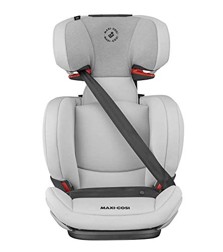 Maxi-Cosi RodiFix AirProtect Child Car Seat, Isofix Booster Seat, Grey, 15-36 kg Maxi-Cosi Booster car seat for children from 15-36 kg (3.5 to 12 years) Grows along with your child thanks to the easy headrest and backrest adjustment from the top Patented air protect technology for extra protection of child's head 5
