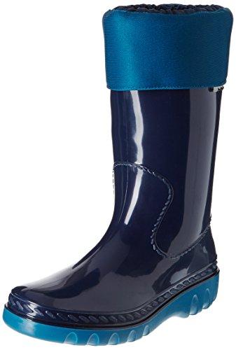 Romika Unisex-Erwachsene Eisbär Gummistiefel, Blau (marine-petrol 594), 39 EU -