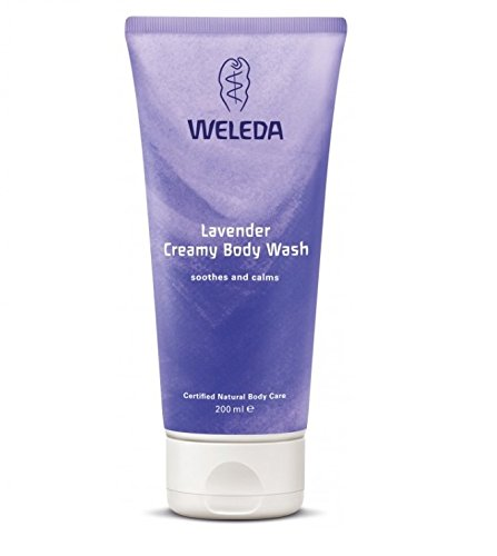 Weleda Lavender Creamy Body Wash - 200ml - PACK OF 5