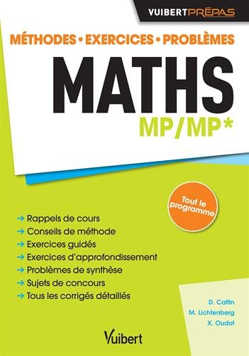 Maths MP/MP* - Méthodes - Exercices - P...