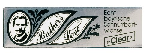 Brother`s Love 9317 Schnurrbartwichse clear 10ml