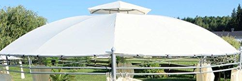 Dachplane wasserfest für Gartenpavillon für 7073-A - kein Umtausch oder Rückgaberecht von AS-S